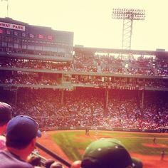 America's Most Beloved Ball Park, Fenway Park, Boston Massachusetts