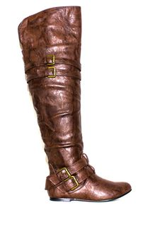 Brown Knee High Riding Boots #fallfashion