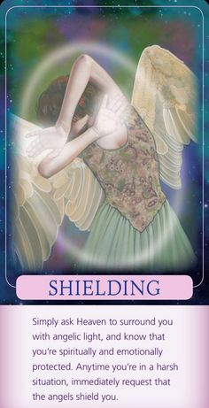 Shielding with the white light of the Holy Spirit