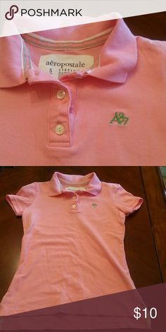 Aeropostale Polo Shirt In great condition, there aren't any imperfections. Size Small. s/p Aeropostale Tops