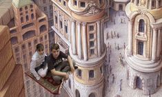 Don't fall in! Amazingly realistic 3D images on pavements across America and Europe