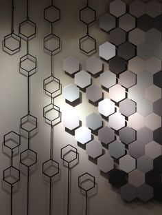 Hexagons popping up everywhere!