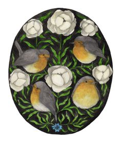 Nadezda Fava | PETTIROSSI I'm getting ready for the winter, just like the robins…
