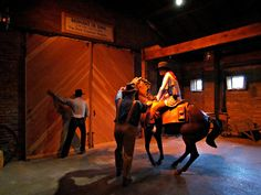 The First Ride by Plain Adventure, via Flickr - at Pony Express National Museum.