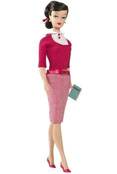 Student Teacher Barbie, Vintage Repro, My Favorite Barbie Doll Series