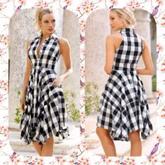 Cute black and white dress Next Dresses, Modest Dresses, Short Dresses, Dresses For Work, Summer Dresses, Stylish Dresses, Casual Dresses, Fashion Dresses, African Wear Designs