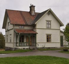 This Old House, My House, Scandinavian Cottage, House Built, Little Houses, Old Houses, Beautiful Homes, Sweet Home, Pergola