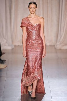 Marchesa Bollywood-inspired Spring 2013 RTW Collection #NYFW