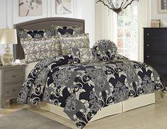 Pharley 8 Piece Comforter Set