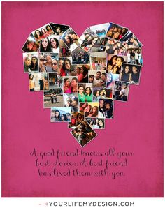 1000 Images About Best Friend Gifts On Pinterest Best Friend Gifts Photo Collage Gift And Gift For Best Friend