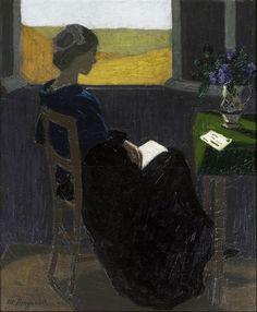 Obra de Marius Borgeaud (Suiza, 1861-1924)