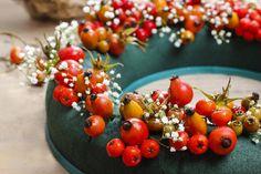Gartenzauber   Hagebuttenkranz gestalten - Gartenzauber