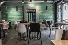restaurante cafetería bar   resh restaurant by Sundukovy Sisters, Moscow