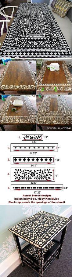 Craft and Furniture Stencils: