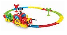 Fisher Price Mickeys Magic Choo Choo Mickey Mouse Clubhouse Train Set Disney NEW