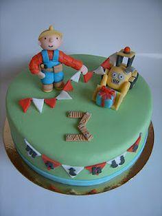 Bob the builder birthday cake Birthday Cakes, Birthday Ideas, Birthday Parties, Bob The Builder Cake, Tool Cake, Cupcakes, Carpenter, Food Food, Cake Ideas