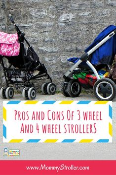 Difference Between a 3 Wheel and a 4 Wheel Stroller - Mommy Stroller Jogging Stroller, 3rd Wheel, Raising Kids, Mom Blogs, Best Mom, Parenting Advice, New Moms, Activities For Kids, Baby Strollers