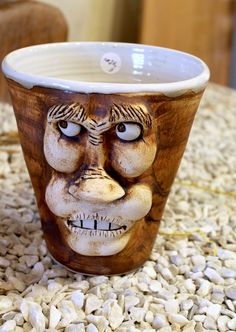 Brad Walker's unique pottery pieces are definitely a local favorite in Dahlonega! // www.facebook.com/pages/Walker-Brad-Pottery/167060836641829