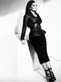 <3 Janet Jackson's glam style.