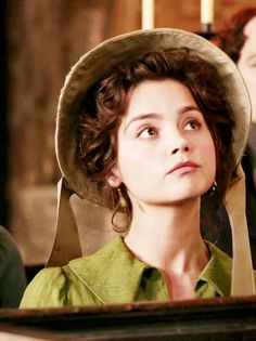 Jenna Coleman as Lydia Wickham in Death Comes to Pemberley (TV series, 2013)