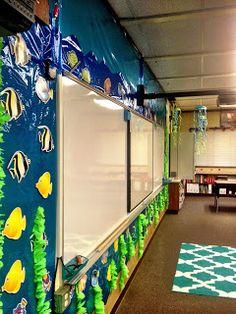 Monday Made A LOT- Ocean themed classroom