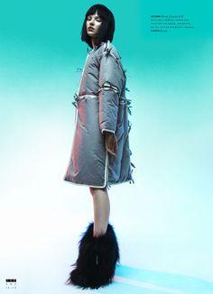 Sasha Luss Models Eastern Style for Nikolay Burykovs SnC Magazine Shoot