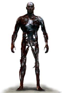 T-800 - Terminator Salvation Concept Art