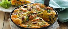 Roasted Vegetable Frittata recipe from Food in a Minute
