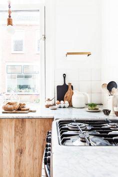 Budget Makeover: A Natural Kitchen - Damask & Dentelle blog