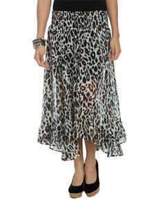 Animal Print Maxi Skirt from