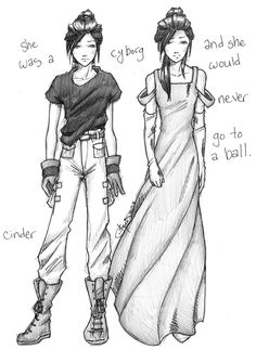 Reason #19: Because Cinder herself, obviously /Cinder by chrysalisgrey