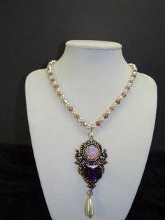 Queen Jane Seymour Tudor Renaissance Portrait necklace via Etsy.