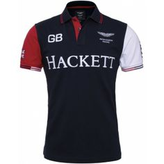 Hackett Aston Martin Racing Polo Shirt (£95) found on Polyvore