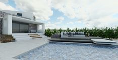 Lounge Areas, Living Room Kitchen, Under Construction, Cool Kitchens, Dining Area, Swimming Pools, Bbq, Villa, The Incredibles