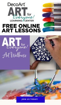 Creative expression and exposure to the arts have wide-ranging, positive effects on our cognitive and psychosocial health wellness. Explore these videos to discover the benefits of including art in your life. Arts And Crafts Projects, Diy Crafts, Tertiary Color, Art Basics, Principles Of Art, Glitter Paint, Art Journal Pages, Acrylic Painting Canvas, Basic Colors