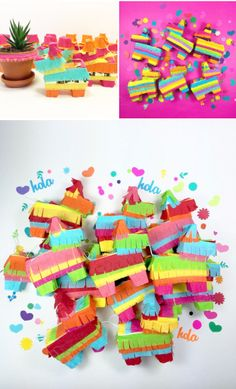 These mini piñatas are almost too cute to break. Almost.