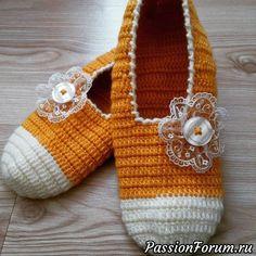 ¿Zapatillas o calcetines? Recopilé ideas y patrones en Internet :) - una publicación de Marina (Marina) en la comunidad Crochet en la categoría Accesorios de ganchillo Russian Online, Online Diary, Baby Shoes, Slippers, Socks, Knitting, Footprints, Collection, Crafts