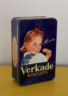 Verkade Biscuits Tin