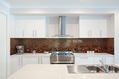 Motyw kawy - do kuchni idealny! fototapeta z laminatem: http://www.fototapeta24.pl/getMediaData.php?id=39909310 #coffee #kawa #fototapeta #fototapeta24pl #kitchen #kitchendesign