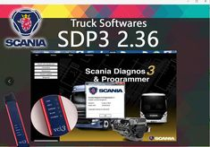2018 new Scania SDP3 2.37 Diagnos /& Programmer Dealer diagnostic program