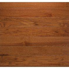"Somerset Floors Classic 5"" Engineered Oak Hardwood Flooring in Gunstock"