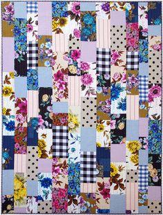 Modern Patchwork Quilt $500