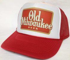 Old Milwaukee Beer Trucker Hat - 2014 New Arrivals Trucker Hats and Hats