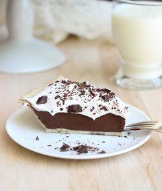 Healthy Silk Chocolate Pie {vegan and gluten-free}