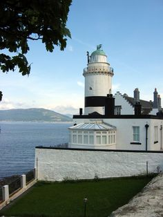 Cloch - Scotland ... The Cloch Lighthouse is located on the River Clyde and was built in 1797