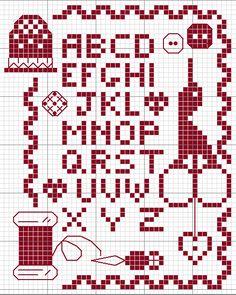 Point de croix *m Cross stitch monochrome Cross Stitch Sampler « Marika Bel. Blackwork Cross Stitch, Cross Stitch Sampler Patterns, Blackwork Patterns, Cross Stitch Freebies, Cross Stitch Alphabet, Cross Stitch Samplers, Cross Stitch Charts, Cross Stitch Designs, Cross Stitching