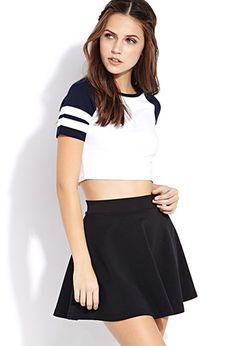 Sporty Side Crop Top | FOREVER21 - 2000090831 $6.80