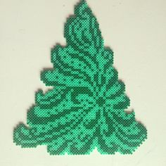 Christmas tree hama perler beads by pagey163