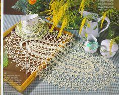 Mini-Magazine: Elena Crochet d'Art №36 (2007-08) - sieć dzianiny, szprychy i hak - CREATIVE DŁONIE - Wydawca - linia życia