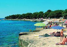 Camping in Croatia camps in Croatia camping Croatia Dalmatia Island of Pag in the Adriatic